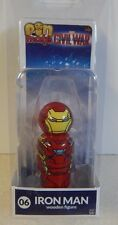 Marvel Captain America Civil War Pin Mate Wooden figure Iron Man  MOC!!