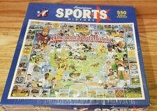 Vintage American Sports History Jigsaw Puzzle 1000 Pieces Athletes New