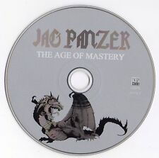 "JAG PANZER ""THE AGE OF MASTERY"" RARE PROMOTIONAL ADVANCE CD / POWER METAL ROCK"