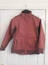 Craghopper Ladies Windshell Jacket UK 14 Pink Windproof Breathable Warm.