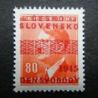 Germany Nazi 1942 1945 Stamp MNH Adolf Hitler Overprint WWII Third Reich German
