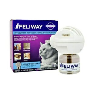 Feliway Calming Pheromone for Cats - Diffuser Kit with 48ml Bottle - Genuine