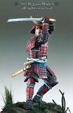 Pegaso Models 54mm Samurai Warrior Momoyama Period Metal Figure Kit #54-090