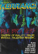 KERRANG! Mag.Issue 224 Feb 1989- Rush- Skid Row-Masters Of Reality- Dark Angel +