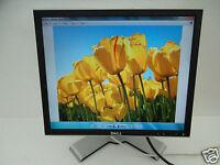 "Dell 1907FP 1908FP 19"" UltraSharp LCD Monitor w/4-Port USB Hub DVI VGA UW042"