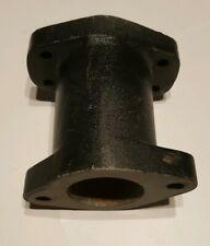 """Weiand 6231WIN 4.5"""" used Marine Water Outlet Spacer Small & Big Block Chevy"""