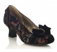 RUBY SHOO Womens Rhea Rust Slip-On Court Shoes UK3 EU36 US5