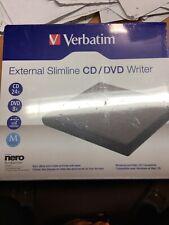 Verbatim External Slimline CD/DVD Writer #98938
