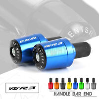 Handle Bar Grips End Weights Caps Plugs for YAMAHA YZF R3 YZFR3 15-19 YZF-R3