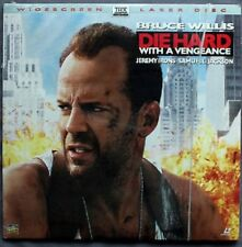 Die Hard With a Vengeance (Laserdisc, 1995, Widescreen Thx, New Sealed)