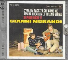 """GIANNI MORANDI - RARO 2 CD FUORI CATALOGO """" I MITICI 45 """""""