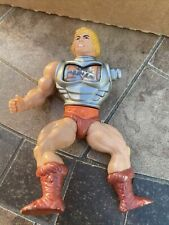 Lot of 4 Vintage Masters of the Universe Action Figures He-Man USED FOR PARTS