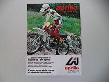 advertising Pubblicità 1977 MOTO APRILIA SCARABEO 50