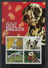 Grenadines of Grenada 2014 MNH Dog Breeds Dalmatians 4v M/S Dogs Pets