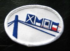 SIGNAL FLAGS EMBROIDERED SEW ON PATCH UNIFORM