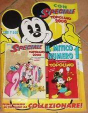 TOPOLINO SPECIALE 2000 + N.1 ANASTATICO  nuovo e chiuso walt disney italia 1994
