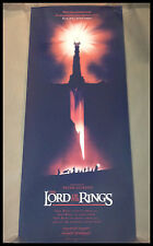 OLLY MOSS - The Lord of the Rings VARIANT PRINT SOLD OUT Mondo Alamo The Hobbit