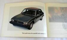 1976 peugot sales brochure original