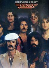 STARBUCK rock n roll rocket US 1977 EX LP + INNERSLEEVE