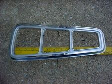 MOPAR 68 DODGE CORONET right TAILLIGHT TRIM BEZEL DELUXE 440 SUPER BEE BBODY