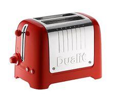 Tostapane DUALIT 2 pinze - 2 Slot Lite Toaster, rot