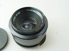 M42 : 35 mm 3,5  schraub ObjektivReflexegon wide