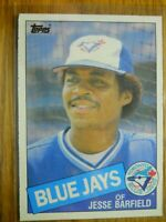 1985 TOPPS CARD # 24 JESSE BARFIELD