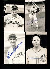 DEBS GARMS Signed PIRATES Postcard w/COA - DIED 1984 - N.L. BATTING CHAMP 1940