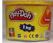 NEW HASBRO PLAY DOH 4 COLOUR 1KG TUB PINK GREEN ORANGE PURPLE PLAYDOH NEON.