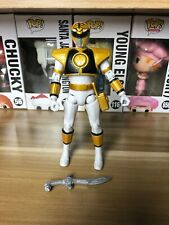 Mighty Morphin Power Rangers Super Legends Series Action Figure White Ranger