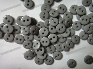 9mm 100pcs 2-Holes Round Resin Sewing Clothes Buttons Diy Toy Craft Scrapbook