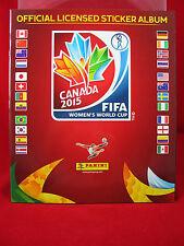 Panini Frauen WM 2015 Leeralbum Album Women's World Cup Canada 15 WC