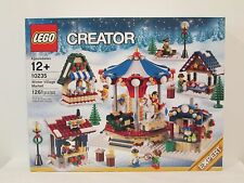 Lego Creator set 10235 Winter Village Market *BRAND NEW!* city town snow santa