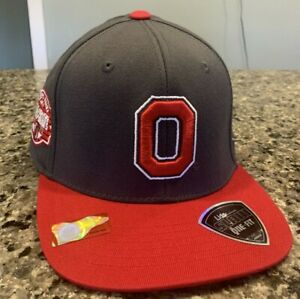 Ohio State Buckeyes Hat Stretch Fit One-Fit L/XL Top of the World Lids Exclusion