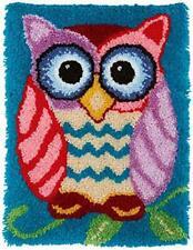Mladen Latch Hook Rug Kits Diy Crochet Yarn Rugs Hooking Craft Kit with Color.