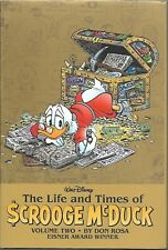 Life & Times of Scrooge McDuck HC (Boom) Don Rosa Autographed New