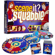 SCENE IT,SQUABBLE,DVD TRIVIA GAME,MUSIC,TV,& MOVIE CLIPS,MEN vs WOMEN,17+,NEW