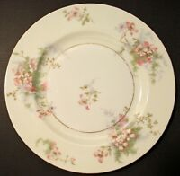 "8 Vintage Theodore Haviland New York Apple Blossom 7.5"" Salad Plates"