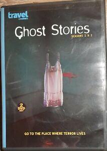 GHOST STORIES Seasons 1 & 2 - 2 disc Set - Region 1 - like new Free Postage
