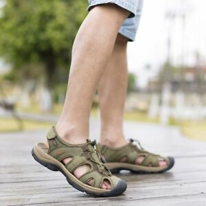 Mens Summer Sandals Outdoor Breathable size 10