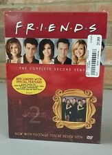 FRIENDS TV SERIES COMPLETE SECOND SEASON 2 DVD 4 DISC BOX SET NEW SEALED