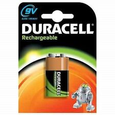 1xDuracell Rechargeable 9V (6HR61 / MN1604) NiMh Battery (170mAh)
