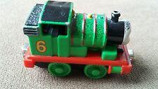 Thomas the Train Percy Metal Engine 2002 Gullane ~Take Along & Play