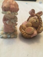Two Cute Vintage Ornaments