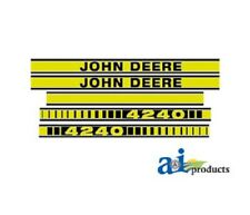 Tractor decal set stickers to fit John Deere 4240