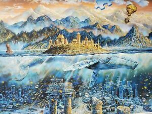 Ravensburger Magical World Whales  2000 Piece Adult Decompression Puzzle Toy New