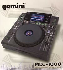 Gemini MDJ-1000 Professional Media DJ Controller with LCD Screen