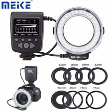 Meike FC-100 Macro Ring Flash Light for Canon Nikon Olympus Fuji DSLR Cameras LJ
