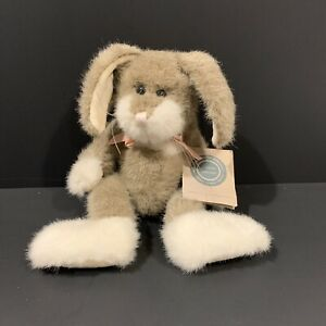 The Boyds Collection Jointed Bunny Rabbit Bean Bag Plush 1985-1995 Tagged