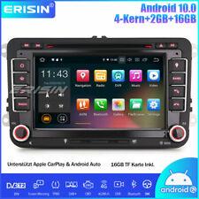 DAB+ Android 10 Autoradio GPS Für VW Passat Polo Golf 5/6 Tiguan Jetta Seat Navi